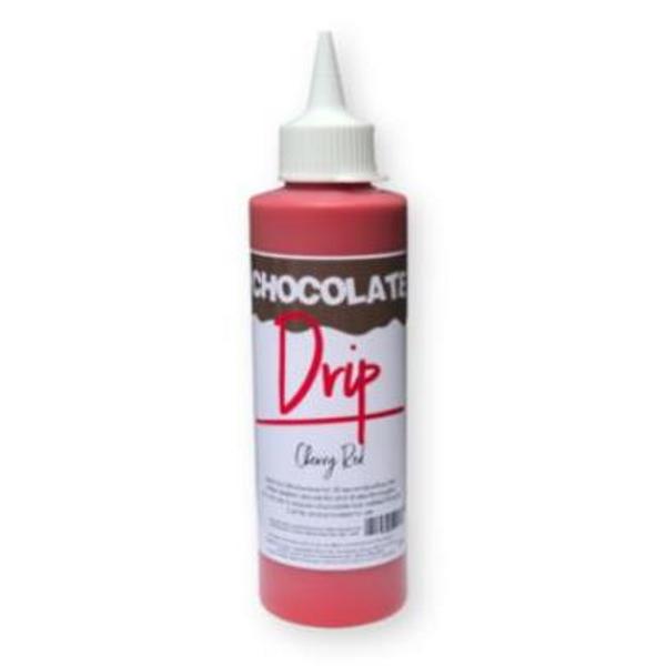 Chocolate Drip- CHERRY RED