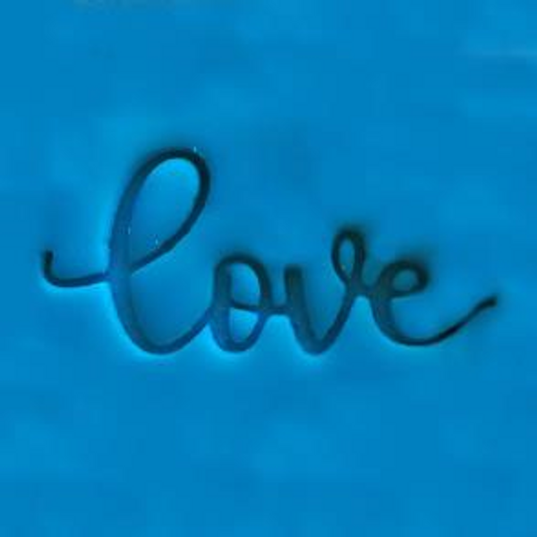 """""""Love"""" Cookie Embosser"""