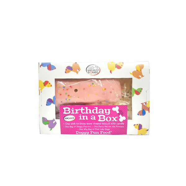 Birthday in a Box – Pink