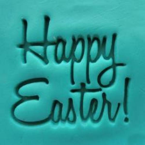 'Happy Easter' Embosser Small