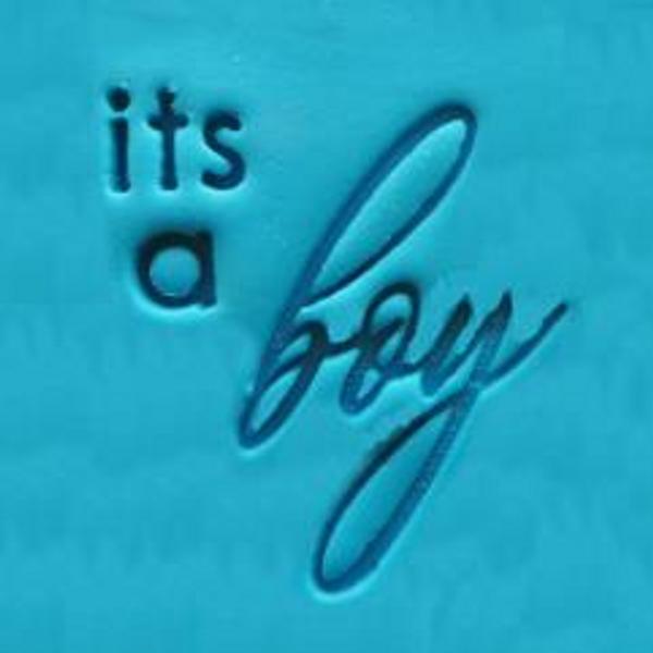 'Its a Boy' EMBOSSER