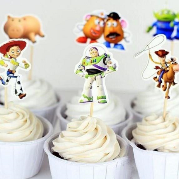 Cupcake Toppers 24pc - Toy Story