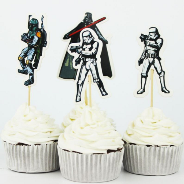 Cupcake Toppers 24pc - Star Wars