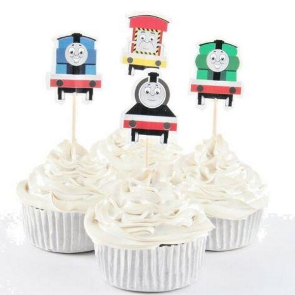 Cupcake Toppers 24pc - Thomas & Friends