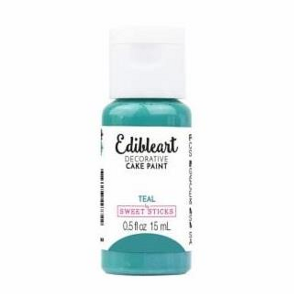 Edible Art Cake Paint by Sweet Sticks - TEAL