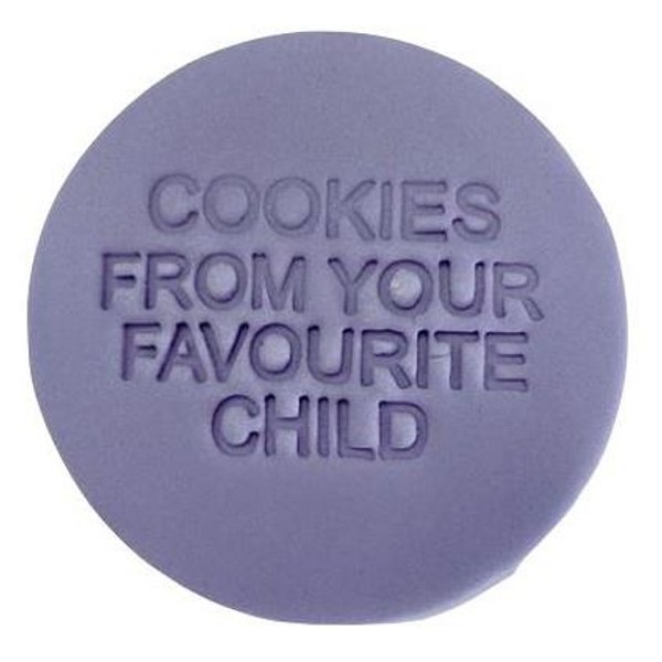 """""""Cookies From Your Favourite Child"""" Embosser"""