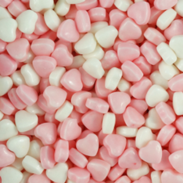 Cotton Candy Hearts