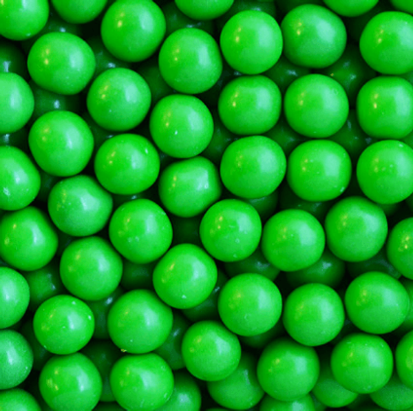 Chocolate Pearls - GREEN