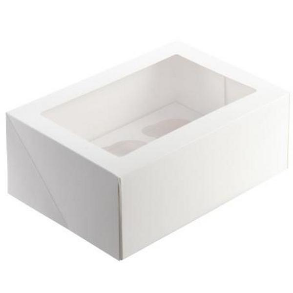 Cupcake Box with Inserts - 6 CAVITY
