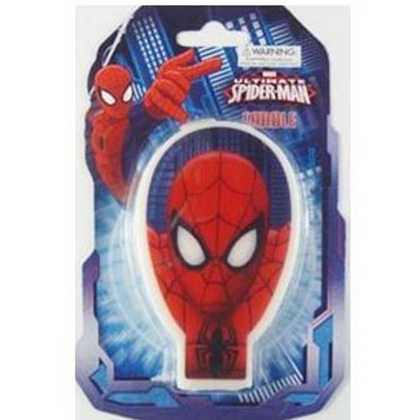 Birthday Candle - Spiderman