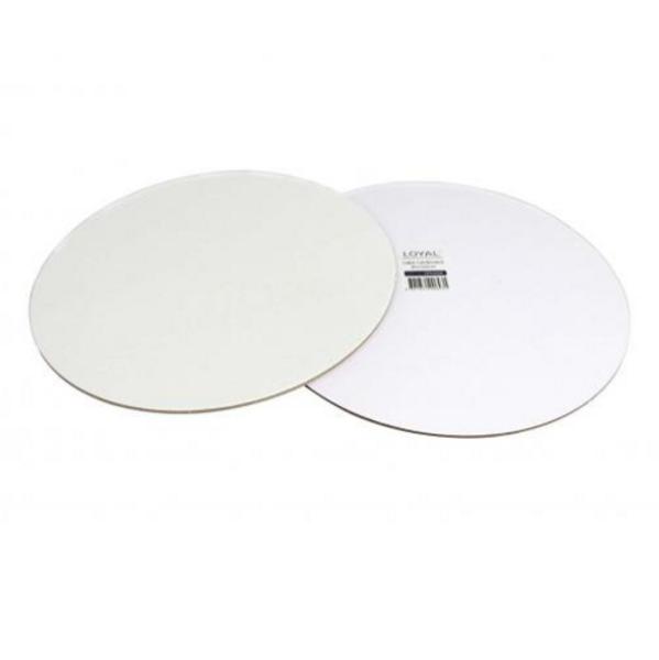 "Cake Slip Board White Round - 10"" / 25cm"