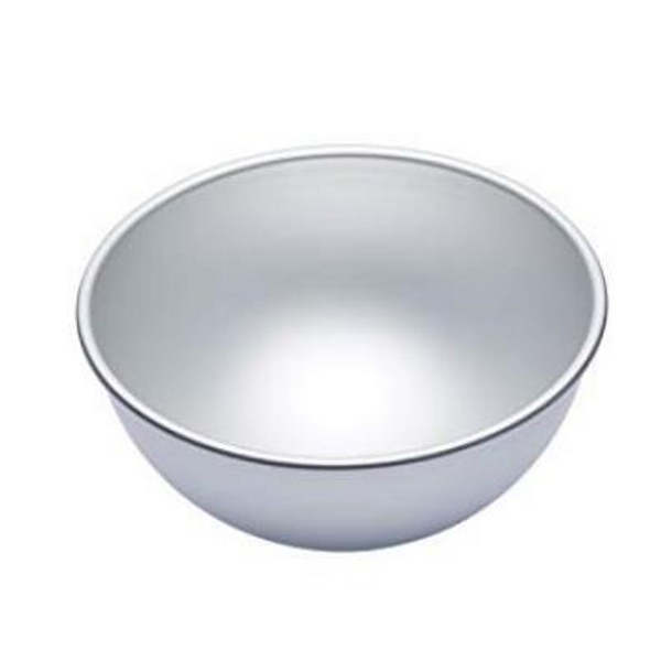 "Cake Tin Novelty - 8"" HEMISPHERE"