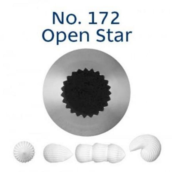 Piping Tip Open Star - No.172