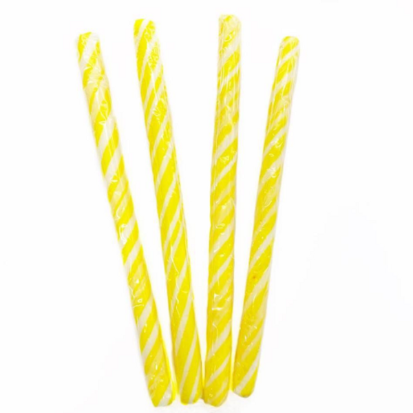 Candy Stick Yellow and White - Small