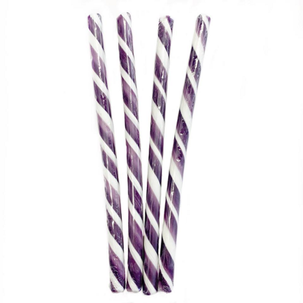 Candy Stick Purple and White - Small
