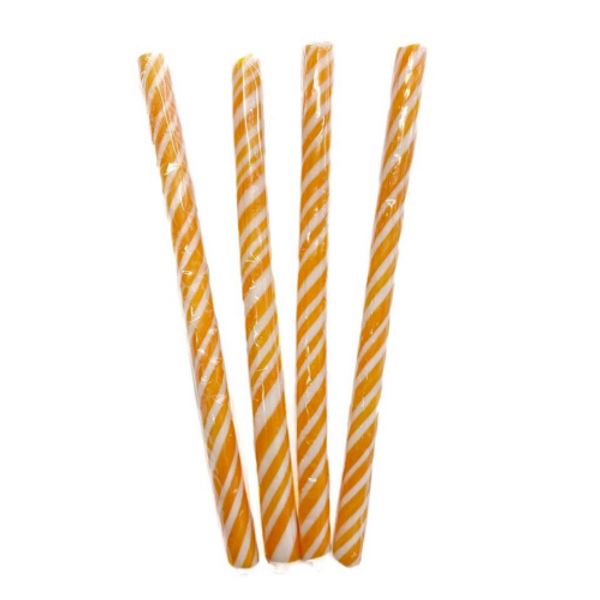 Candy Stick Orange and White - Small