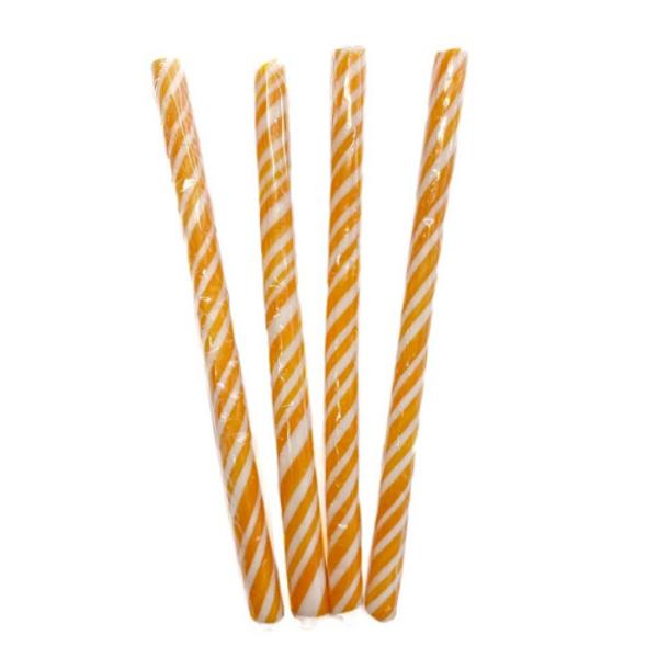 Candy Stick Orange and White - Small