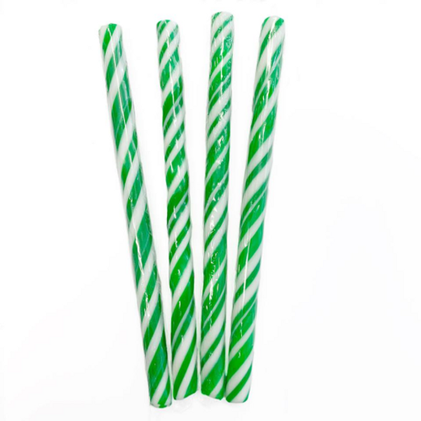 Candy Stick Green and White - Small