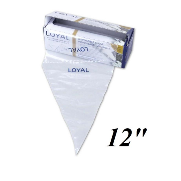 "Disposable Piping bags 12"" - 100 pack - LOYAL"