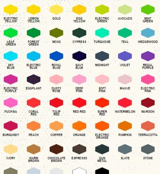 Americolor Colour chart