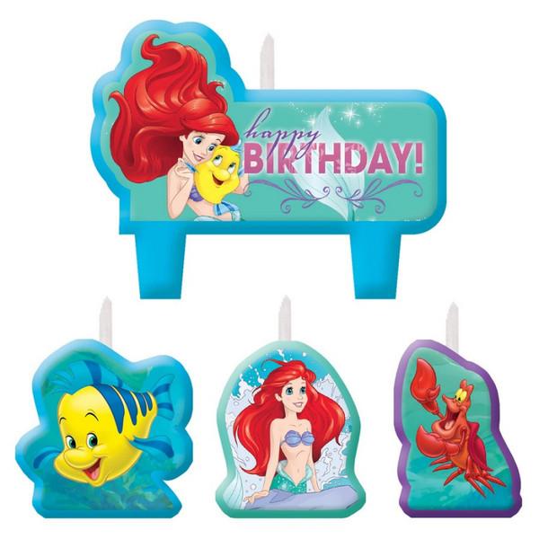 Ariel Dream Big Birthday Candle Set