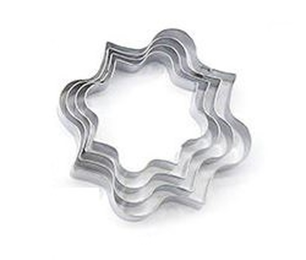 Stainless Steel Cutters  4pc - MOROCCAN TILE