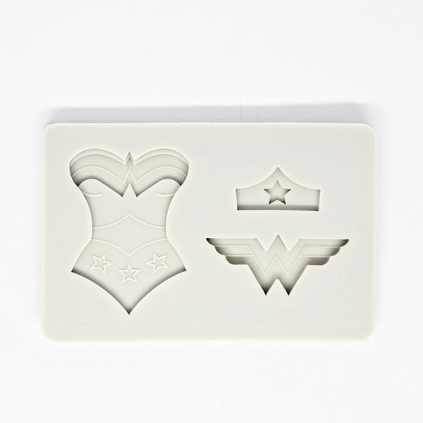 Silicone Mold - Wonder Woman 3pc