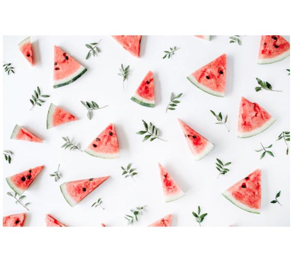 Backdrop 90cm x 60cm - Watermelon