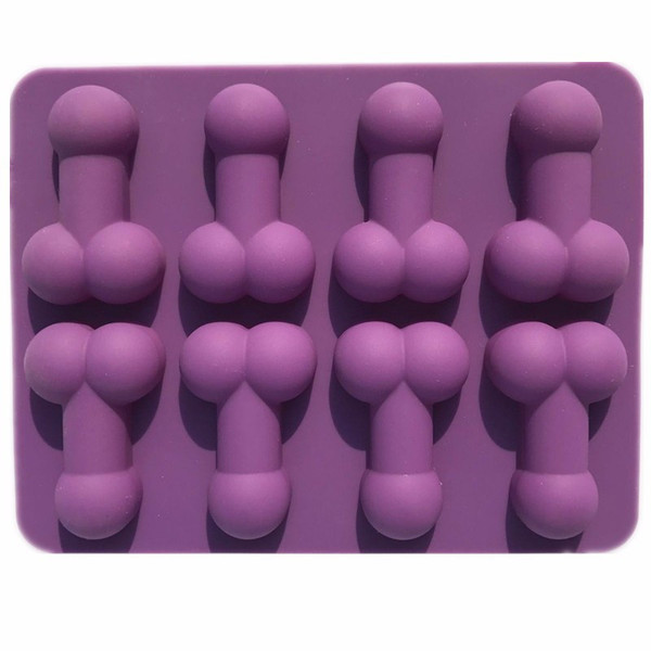 Silicone Mold - Penis 8 Cavity