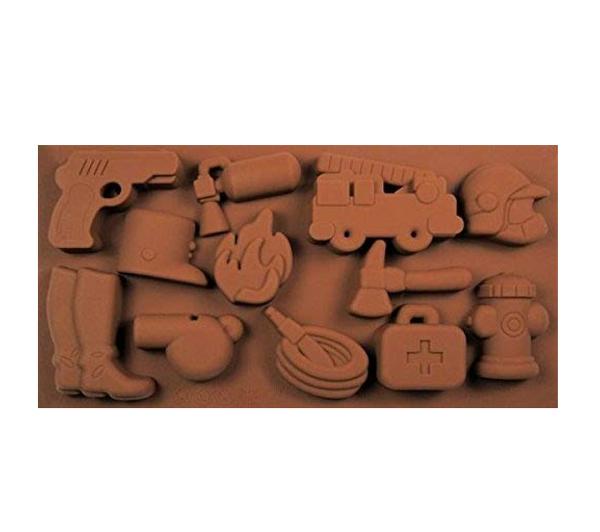Chocolate Mold - Fire Fighting