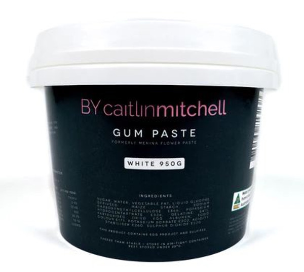 Gum Paste BY Caitlin Mitchell 950g - White