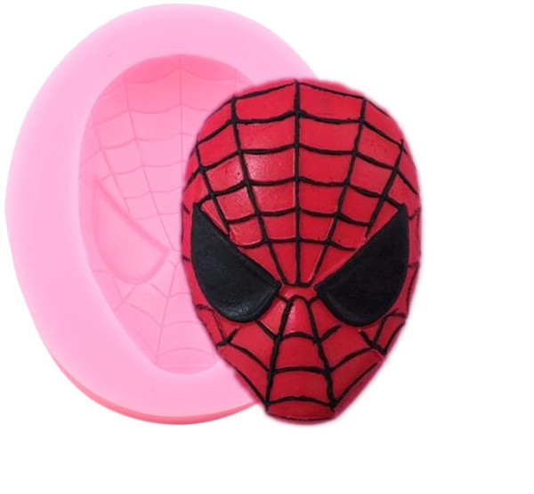 Spider Man Mask Silicone Mold