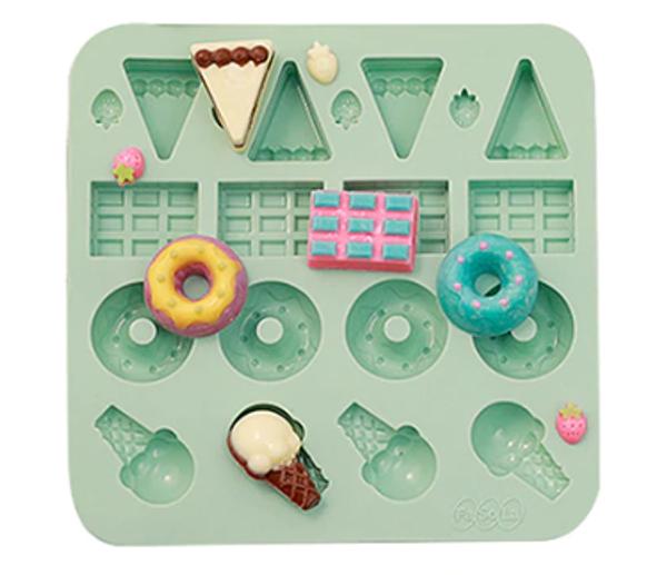 Silicone Mould - Desserts 20pc