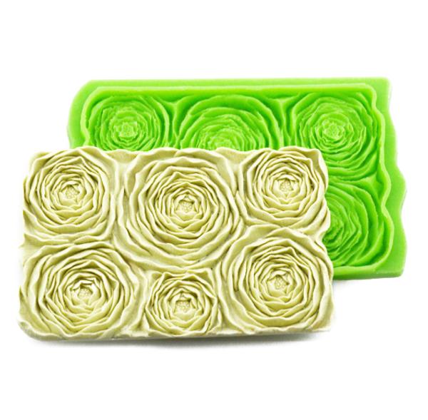 David Austin / Peony Rose Silicone mold