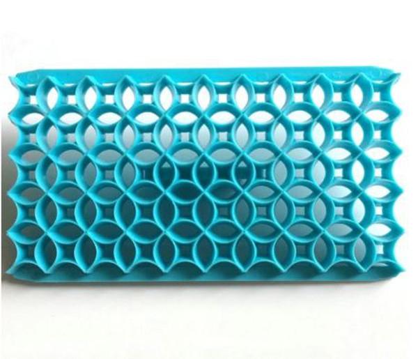 Plastic Embosser - Interlocking Circles