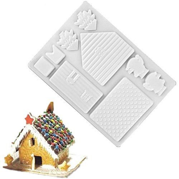 Chocolate Mold - Gingerbread House