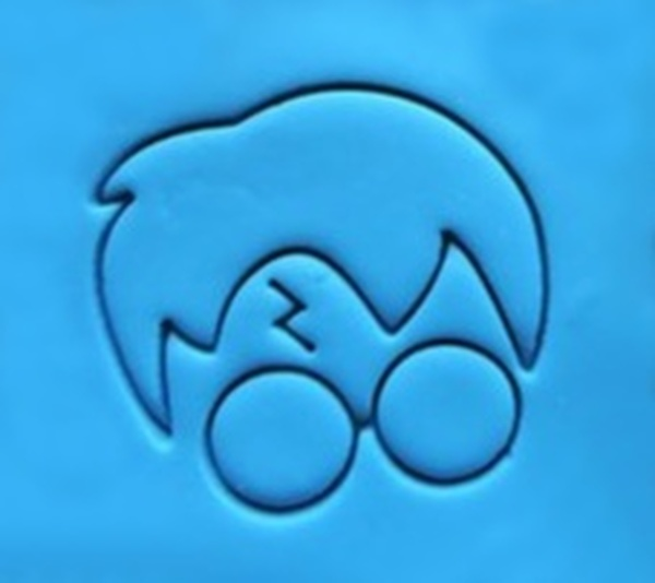 Cookie Embosser - 'Harry Potter Face'