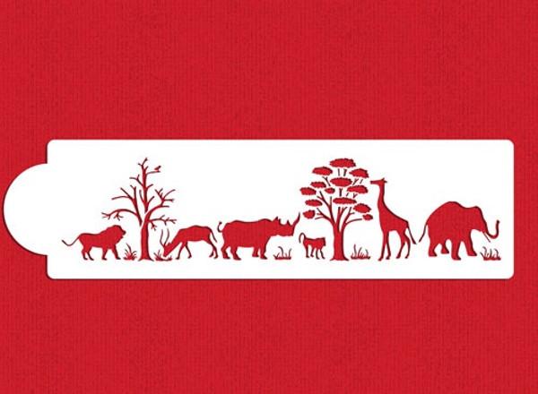 Safari Animals Stencils