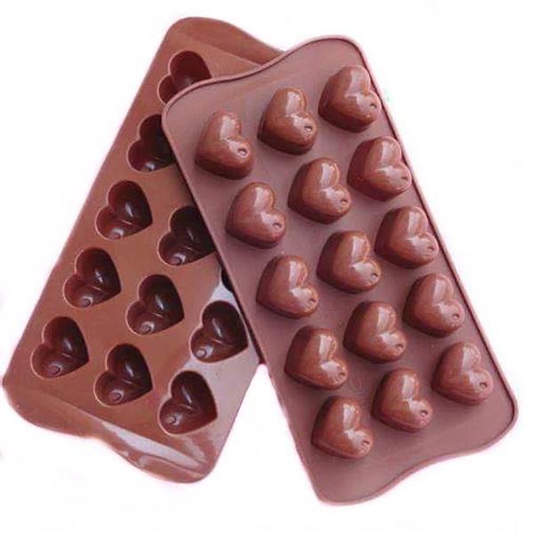 Chocolate Mold - Hearts 15pc