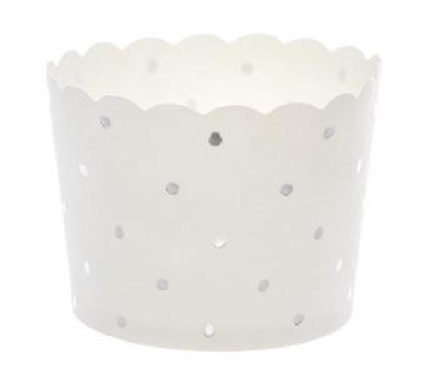 Shmick Baking Cups 25pk - SILVER DOTTY