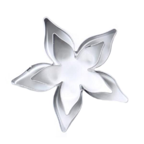Tin Plate Cutter Set 2pc - Rose Calyx