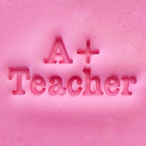 Cookie Embosser -  A+ Teacher