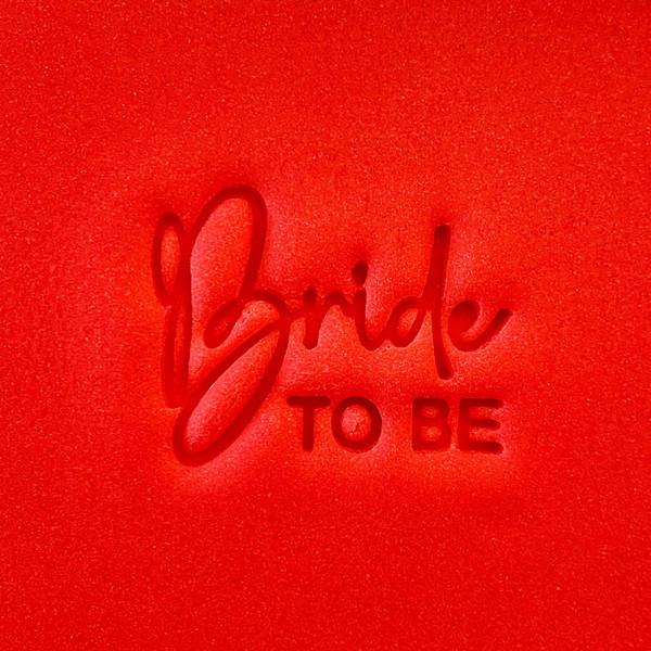 Cookie Embosser - Bride To Be