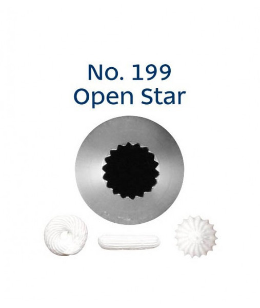 Piping Tip Open Star - No.199