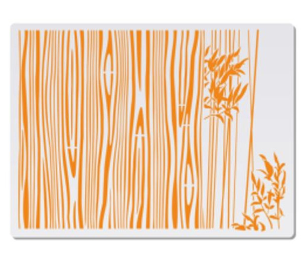 Cake Stencil - Bamboo Forrest