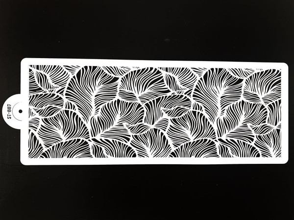 Cake Stencil - Intricate Leaves