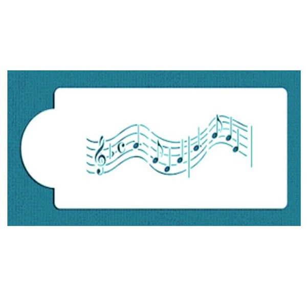 Cake Stencil - Small Musical Notes