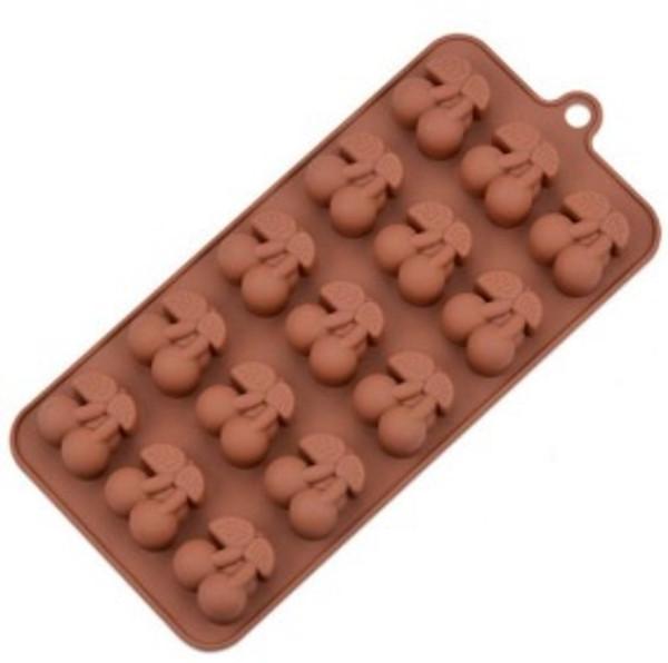 Silicone Chocolate Mold - CHERRIES