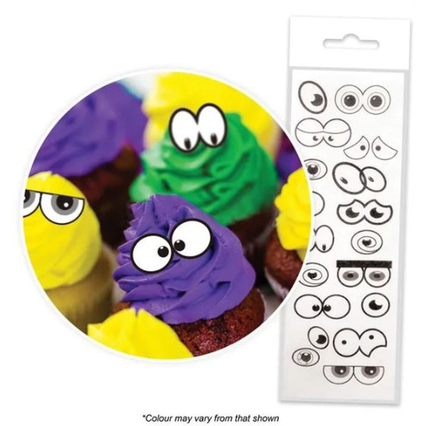 Edible Wafer Toppers - MIXED EYES TOPPERS