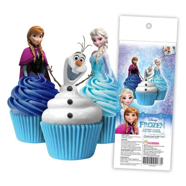 Edible Wafer Toppers  - FROZEN 16PC